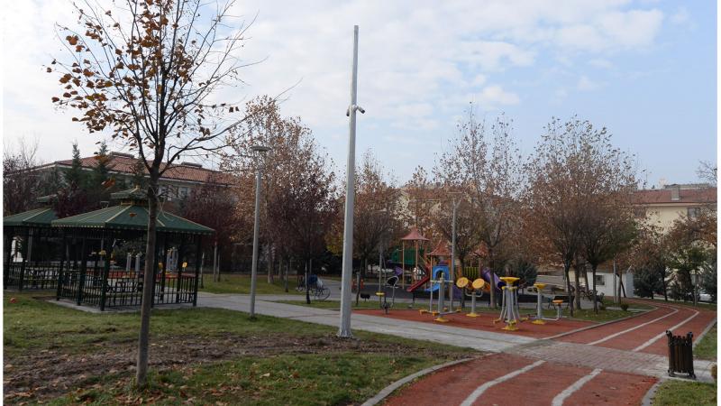 Altındağda Güvenli Parklar