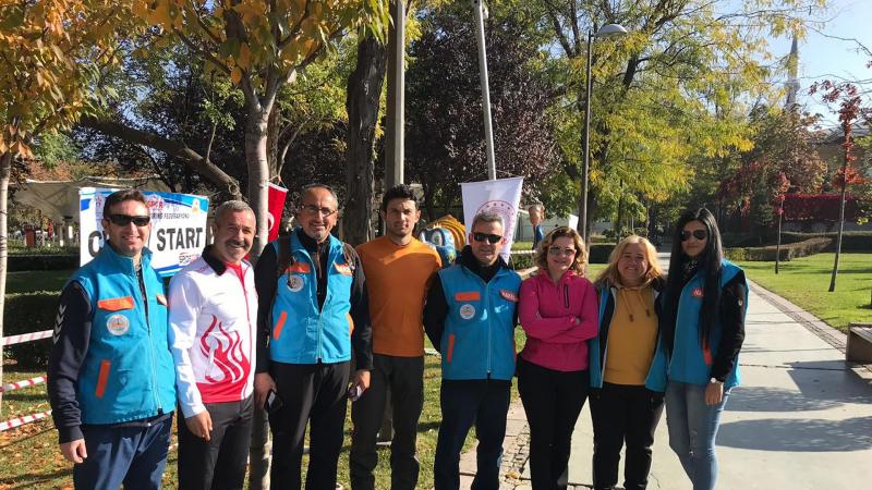 Gençlik Parkı Oryantring şampiyonasına ev sahipliği yapıyor
