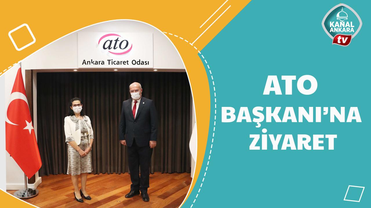 Büyükelçi Ato Başkanı Baranı ziyaret etti