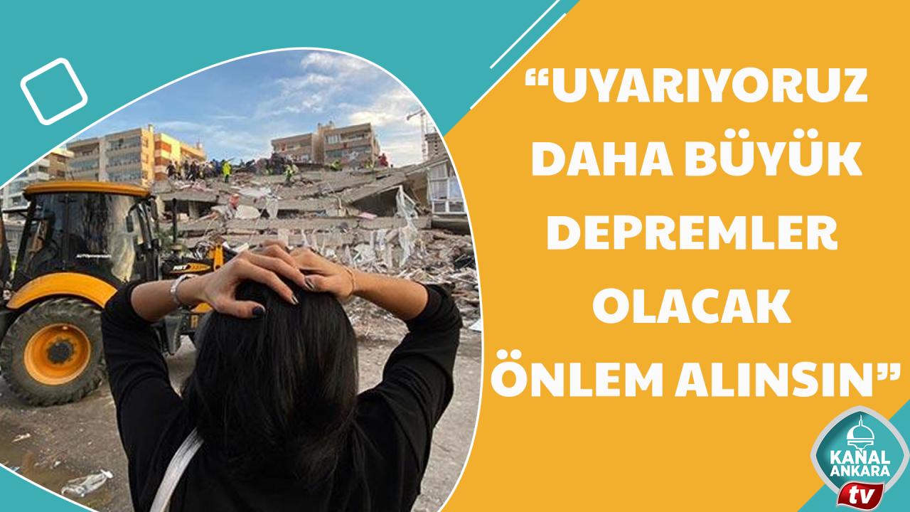 Harita Kadastro Mühendisleri Odasından İzmir Depremi açıklaması!
