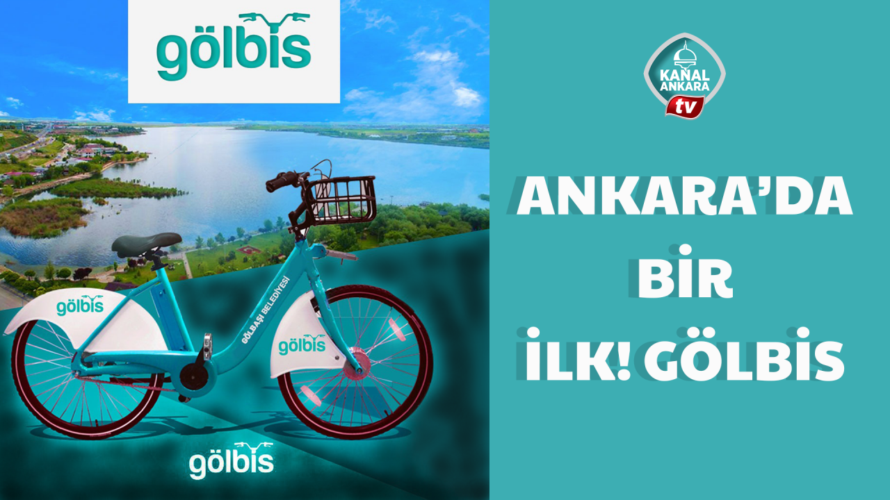 Ankara'da bisiklet kullanımını artıracak proje: GÖLBİS
