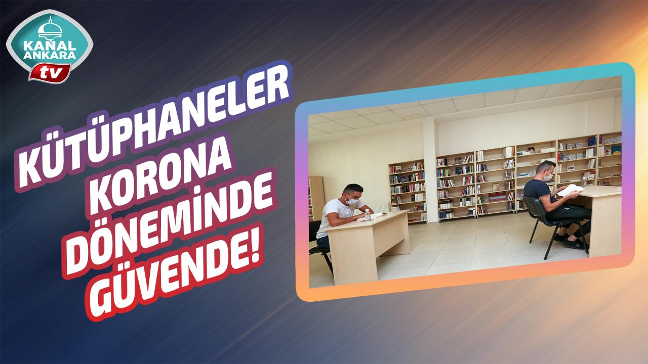Güvenli kütüphane hizmetine büyük ilgi!