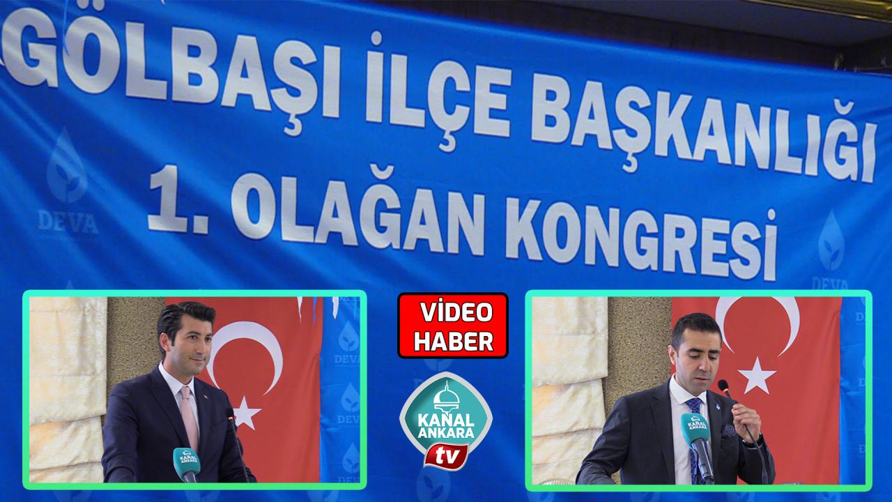 DEVA Partisi Ankaradaki 8. İlçe kongresini gerçekleştirdi