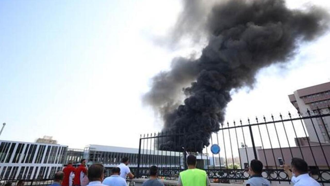 Son Dakika! Ankarada yangın!